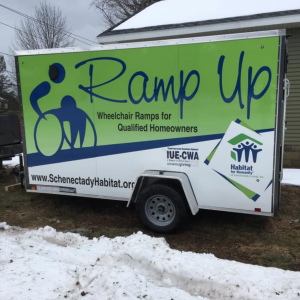 Ramp Up Trailer